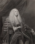Prints, LEGAL PERSONAGE, ENGLISH STATESMAN OR JUDGE. 18th century.17 x 13 inches (43.2 x 33.0 cm). Engraving after ...