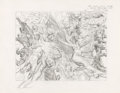 Original Comic Art:Miscellaneous, Alex Ross JSA #68 and #69 Cover Pencil Preliminary OriginalArt (DC, 2005)....