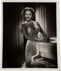 Movie/TV Memorabilia:Photos, A Dorothy Dandridge Black and White Photograph, Circa 1953....