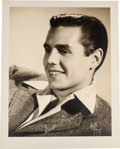 Movie/TV Memorabilia:Photos, A Desi Arnaz Sepia Photograph by Bruno of Hollywood, Circa 1950....