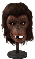 "Movie/TV Memorabilia:Awards, An Ape Mask from ""Planet of the Apes.""..."