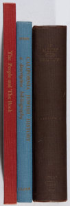 Books:Books about Books, Group of Three Books About Books Relating to Jewish History.Various, 1926-1967. First edition, first printing. All very goo...(Total: 3 Items)