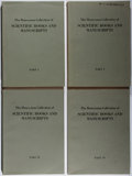 Books:Reference & Bibliography, The Honeyman Collection of Scientific Books and Manuscripts.Vol. I-IV. Sotheby Parke Bernet, 1978. First edition, f... (Total:4 Items)