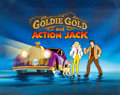 Animation Art:Production Cel, Goldie Gold and Action Jack Production Title Card AnimationArt (Ruby-Spears, 1981)....