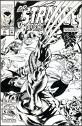 Original Comic Art:Covers, Geof Isherwood Doctor Strange #41 Cover Original Art(Marvel, 1992)....