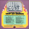 Original Comic Art:Miscellaneous, Robert Crumb R. Crumb and the Cheap Suit SerenadersHand-Lettered Back Cover and Painted Background Original Art (...