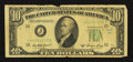 Error Notes:Inverted Reverses, Fr. 2011-J $10 1950A Federal Reserve Note. Very Good.. ...