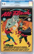 Golden Age (1938-1955):Superhero, All-Flash #4 (DC, 1942) CGC VF/NM 9.0 Off-white to white pages....