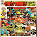 Original Comic Art:Miscellaneous, Robert Crumb Signed Big Brother and the Holding Company CheapThrills Record Album (Columbia, 1968)....