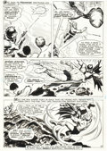 Original Comic Art:Panel Pages, Nick Cardy Aquaman #37 Ocean Master Page 5 Original Art (DC, 1968)....