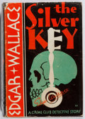 Books:Mystery & Detective Fiction, Edgar Wallace. The Silver Key. Crime Club, 1930. Firstedition, first printing. Leaning. Name erased from ffep. ...