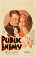"Movie Posters:Crime, The Public Enemy (Warner Brothers, 1931). Window Card (14"" X 22"")....."