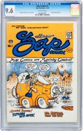 Silver Age (1956-1969):Alternative/Underground, Zap Comix #1 (First Printing - Plymell) (Apex Novelties, 1967) CGCNM+ 9.6 Off-white pages....