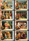 "Movie Posters:Adventure, The Jungle Princess (Paramount, 1936). CGC Graded Lobby Card Set of8 (11"" X 14"").. ... (Total: 8 Items)"