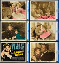 "Movie Posters:Musical, The Littlest Rebel (20th Century Fox, 1935). CGC Graded DeluxeLobby Card Set of 10 (11"" X 14"").. ... (Total: 11 Items)"