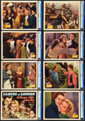 "Movie Posters:Drama, Lloyds of London (20th Century Fox, 1936). CGC Graded Lobby CardSet of 8 (11"" X 14"").. ... (Total: 8 Items)"