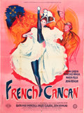 "Movie Posters:Musical, French Cancan (MGM, 1955). French Grande (47"" X 63"") Style A.. ..."