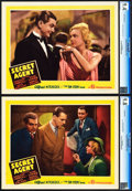 """Movie Posters:Hitchcock, Secret Agent (Gaumont, 1936). CGC Graded Lobby Cards (2) (11"""" X 14"""").. ... (Total: 2 Items)"""