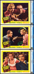 "Movie Posters:Hitchcock, Secret Agent (Gaumont, 1936). CGC Graded Lobby Cards (3) (11"" X14"").. ... (Total: 3 Items)"