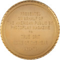 "Movie/TV Memorabilia:Awards, A Hal B. Wallis Photoplay Award from ""True Grit.""..."