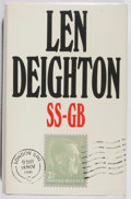 Books:Mystery & Detective Fiction, Len Deighton. SS-GB. Jonathan Cape, 1978. First edition,first printing. Owner's name. Price-clipped. Very good....