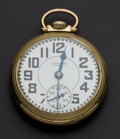 Timepieces:Pocket (post 1900), Waltham 21 Jewel Riverside Pocket Watch. ...