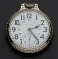 Timepieces:Pocket (post 1900), Hamilton 21 Jewel 24 Hour 992 Pocket Watch. ...