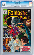 Bronze Age (1970-1979):Superhero, Fantastic Four #94 (Marvel, 1970) CGC NM/MT 9.8 White pages....