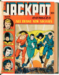 Golden Age (1938-1955):Superhero, Jackpot Comics #1-8 Bound Volume (MLJ, 1941-42)....