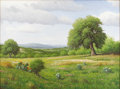 Texas:Early Texas Art - Impressionists, DON WARREN (1935-2006). End of Spring. Oil on canvas. 30 x40 inches (76.2 x 101.6 cm). Signed lower left. Titled verso...
