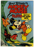 Golden Age (1938-1955):Funny Animal, Four Color #279 Mickey Mouse and Pluto Battle the Giant Ants (Dell,1950) Condition: VF-....