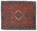 Rugs & Textiles:Carpets, A PERSIAN KARAJA TUFTED WOOL RUG . 20th century . 71-1/2 x 58-1/2inches (181.6 x 148.6 cm). Elton Hyder III Collection Fo...