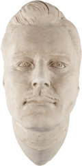 Movie/TV Memorabilia:Autographs and Signed Items, An Errol Flynn Life Mask, Circa 1950s....
