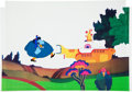 "Animation Art:Production Cel, Beatles Yellow Submarine ""Blue Meanie"" Production CelAnimation Art (United Artists/King Features, 1968)...."
