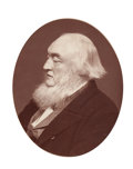 Prints, SIR WILLIAM MILBOURNE JAMES. 11-1/4 x 9-3/8 inches (28.6 x23.7 cm). Black and white photograph of Sir William M...