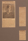 Prints, MISS ALICE DRYSDALE . 19th century. Newsprint. Elton HyderIII Collection Formerly at the University of Texas ...