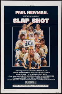 "Slap Shot (Universal, 1977). One Sheet (27"" X 41"") Style A. Sports"