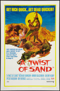 "Movie Posters:Adventure, A Twist of Sand & Other Lot (United Artists, 1968). One Sheets(2) (27"" X 41""). Adventure.. ... (Total: 2 Items)"
