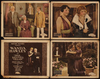 "Her Beloved Villain & Other Lot (Realart, 1920). Title Lobby Card & Lobby Cards (3) (11"" X 14""). Comed..."
