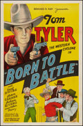 "Movie Posters:Western, Born to Battle (William Steiner, 1935). One Sheet (27"" X 41"").Western.. ..."
