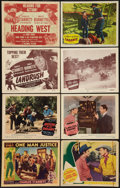 "Movie Posters:Western, Charles Starrett Lot (Columbia, 1937-1952). Title Lobby Cards (4) and Lobby Cards (12) (11"" X 14""). Western.. ... (Total: 16 Items)"
