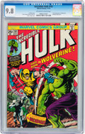 Bronze Age (1970-1979):Superhero, The Incredible Hulk #181 (Marvel, 1974) CGC NM/MT 9.8 Off-white towhite pages....
