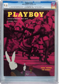 Magazines:Vintage, Playboy #12 (HMH Publishing, 1954) CGC NM+ 9.6 Off-white to white pages....