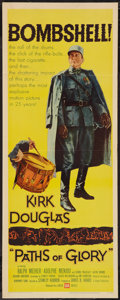 "Movie Posters:War, Paths of Glory (United Artists, 1958). Insert (14"" X 36""). War....."