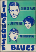 "Movie Posters:Crime, Limehouse Blues (Paramount, 1934). Leader Press One Sheet (28"" X41.5""). Crime.. ..."