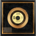 "Music Memorabilia:Awards, Brenton Wood ""The Oogum Boogum Song"" RIAA Gold Record Award Circa1967...."