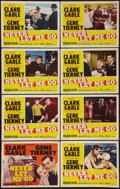 """Movie Posters:Adventure, Never Let Me Go (MGM, 1953). Lobby Card Set of 8 (11"""" X 14"""").Adventure.. ... (Total: 8 Items)"""