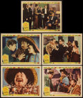 """Movie Posters:Western, Viva Villa! (MGM, 1934). Lobby Cards (5) (11"""" X 14""""). Western.. ... (Total: 5 Items)"""