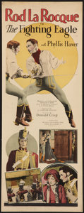 """Movie Posters:Swashbuckler, The Fighting Eagle (Pathé, 1927). Insert (14"""" X 36""""). Swashbuckler.. ..."""