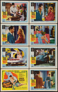 """Movie Posters:Mystery, Twist of Fate (United Artists, 1954). Lobby Card Set of 8 (11"""" X14""""). Mystery.. ... (Total: 8 Items)"""